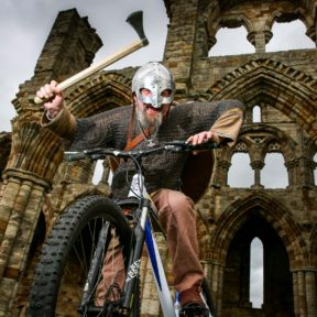 Whitby Abbey Viking Biking