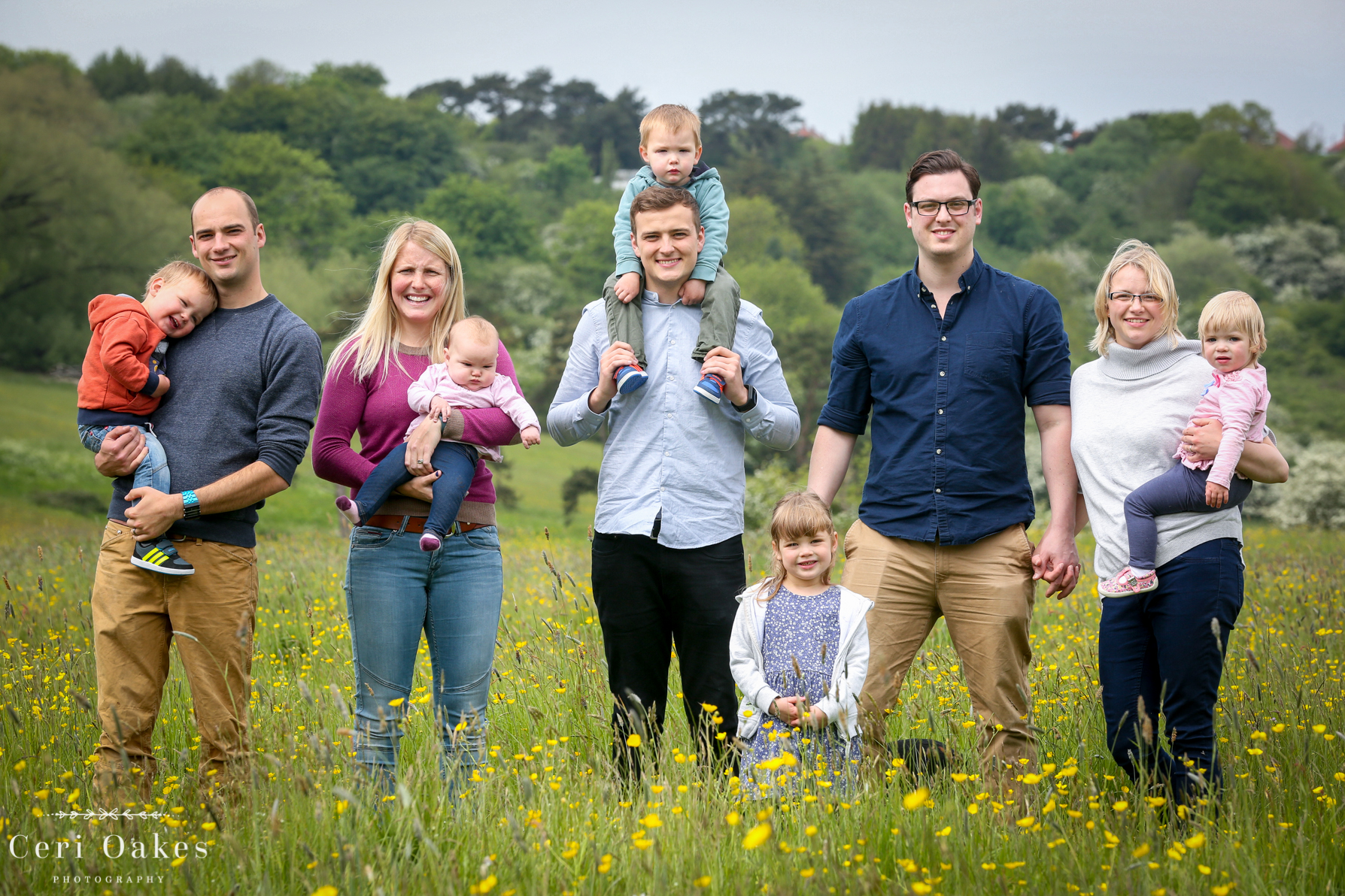 Relaxed and Natural Family Photoshoot